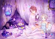Konachan.com - 203604 bed food kantai_collection shigaraki_(strobe_blue)z1_leberecht_maass_(kancolle) z3_max_schultz_(kancolle)