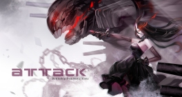 Konachan.com - 204718 battleship-symbiotic_hime black_hair breasts elbow_gloves horns kantai_collection long_hair pcw