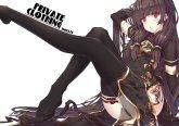 Konachan.com - 210028 black_hair chinese_clothes chinese_dress kantai_collection li
