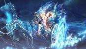 Konachan.com - 197567 blue elsword magic red_eyes scorpion5050 stars tiara unicorn weapon white_hair