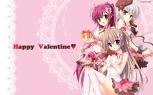 Konachan.com - 178024 arisue_tsukasa chimaro hat karumaruka_circle kousaka_yukiha matsumiya_kiseri narumi_an saga_planets sasakura_mirai valentine