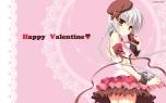 Konachan.com - 178027 arisue_tsukasa gray_hair hat karumaruka_circle saga_planets sasakura_mirai valentine