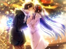 Konachan.com - 193855 amakano black_hair blue_eyes game_cg kiss long_hair piromizu takayashiro_sayuki