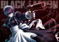 Konachan.com - 202964 black_lagoon gun hijikawa_arashi maid roberta weapon