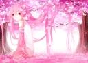 Konachan.com - 203349 hatsune_miku long_hair sakura_miku tagme_(artist) twintails vocaloid
