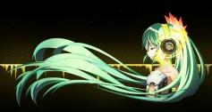Konachan.com - 204407 aqua_eyes aqua_hair aria_(pixiv_id_9867389) dark hatsune_miku headphones long_hair techgirl twintails vocaloid