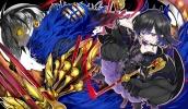 Konachan.com - 204763 armor ch@r dress goth-loli horns lolita_fashion original pantyhose see_through weapon