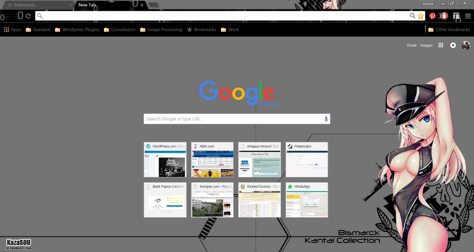 Google themes nba - Bismarck_chrome3