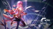 Konachan.com - 198846 boots breasts cleavage elbow_gloves guilty_crown hc long_hair navel pink_hair red_eyes yuzuriha_inori