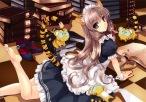 konachan-com-200317-animal_ears-barefoot-comic_toranoana-long_hair-maid-misaki_kurehito-scan-tail