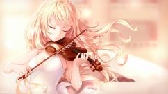 konachan-com-201101-blonde_hair-dress-instrument-kyuri_405966795-long_hair-miyazono_kaori-pink-shigatsu_wa_kimi_no_uso-violin