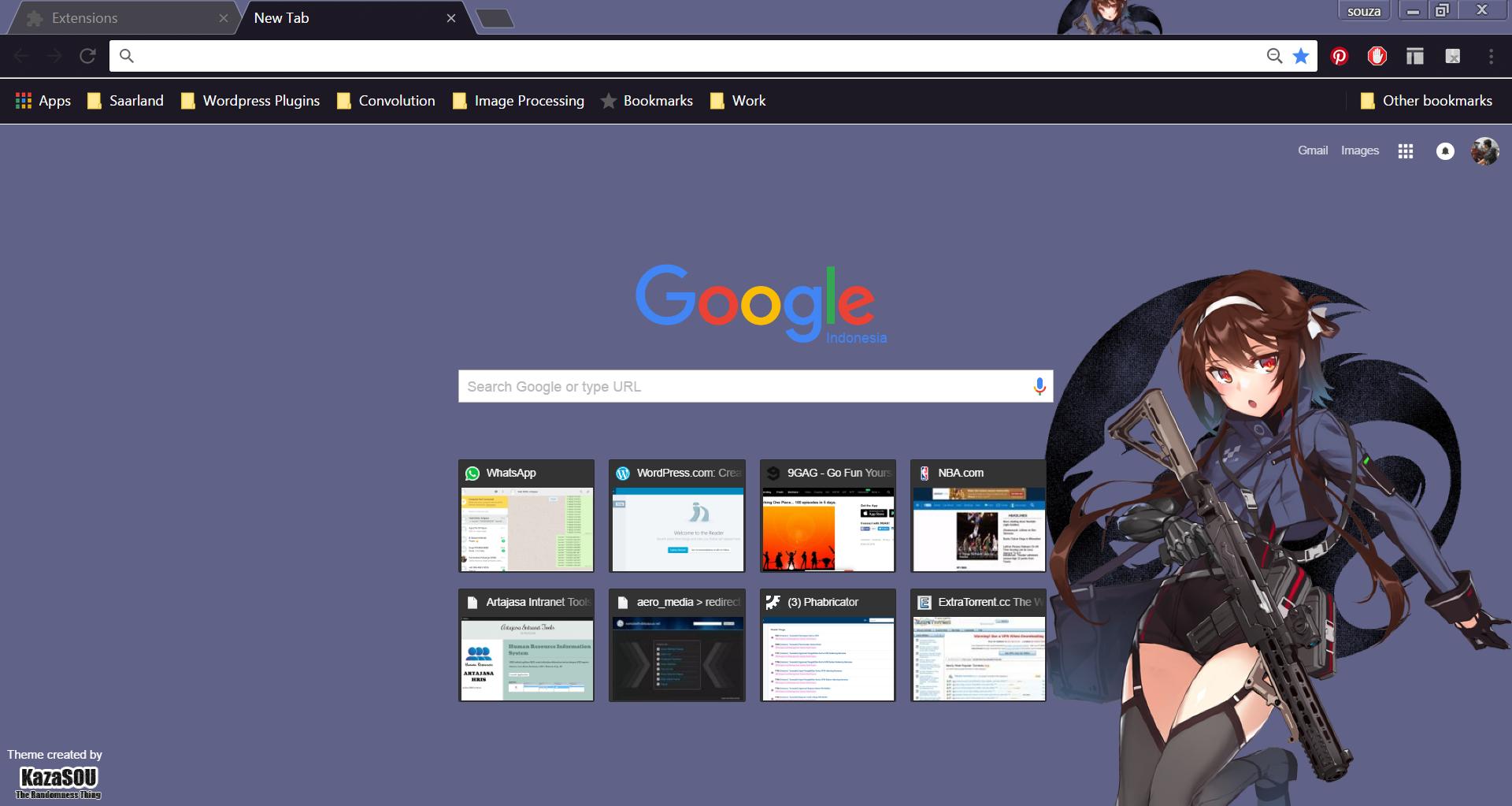 Google themes nba - Girls_frontline_chrome