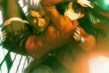 konachan-com-182025-archer-black_hair-bob_biyonbiyon-fate_stay_night-gray_hair-green_eyes-long_hair-short_hair-skirt-thighhighs-tohsaka_rin-zettai_ryouiki