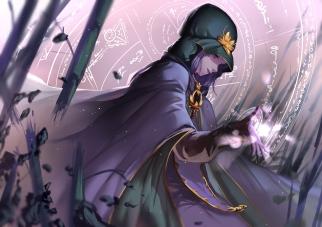 konachan-com-206952-blue_eyes-cape-caster-fate_stay_night-gloves-hon_loliconxh123-magic-purple_hair