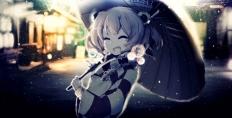 konachan-com-212796-aliasing-japanese_clothes-kimono-motoori_kosuzu-polychromatic-short_hair-snow-touhou-twintails-umbrella-yoshioka_yoshiko