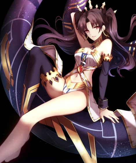 yande-re-378074-armor-cleavage-fate_grand_order-ishtar_fate_grand_order-shiguru-tagme-thighhighs-toosaka_rin