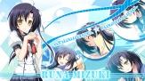 konachan-com-202989-black_hair-braids-long_hair-mizuki_runa-seifuku-shiawase_kazokubu-watermark-yellow_eyes-yuuki_makoto