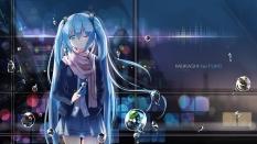 konachan-com-208041-aqua_eyes-aqua_hair-bubbles-hatsune_miku-headphones-kuroi_asahi-long_hair-scarf-seifuku-twintails-vocaloid-water-wink