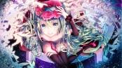konachan-com-208684-aqua_eyes-aqua_hair-flowers-hatsune_miku-long_hair-nekomaaro-thighhighs-twintails-vocaloid