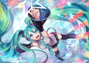 konachan-com-208691-aqua_eyes-aqua_hair-boots-hatsune_miku-headphones-long_hair-temoshi-thighhighs-tie-twintails-vocaloid-watermark