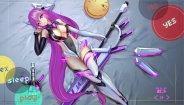 konachan-com-228115-bodysuit-boots-breasts-elbow_gloves-gloves-hc-headdress-long_hair-navel-no_bra-purple_eyes-purple_hair-sword-thighhighs-weapon