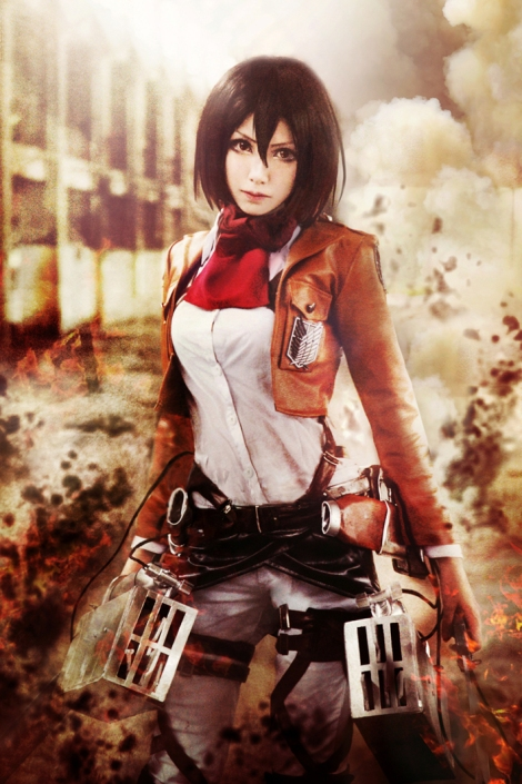 Mikasa Ackerman Cosplay Cosplay of The Day: Mi...