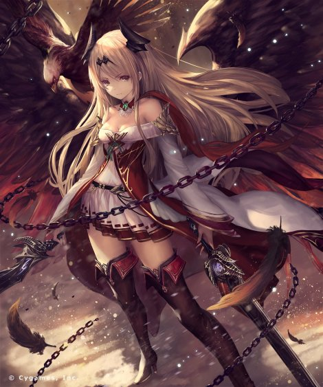 yande-re-379664-dark_angel_olivia-granblue_fantasy-heels-shingeki_no_bahamut-sword-tachikawa_mushimaro-wings