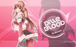 Konachan.com - 205605 ass brown_eyes brown_hair dille_blood dlsite.com gloves headphones long_hair original refeia see_through skintight