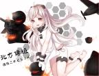 konachan-com-233492-aircraft-anthropomorphism-barefoot-gloves-horns-kantai_collection-long_hair-northern_ocean_hime-orange_eyes-rokiru_yukiyoooooo-white_hair