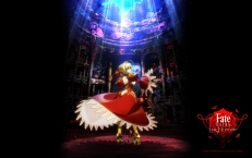 yande.re 350300 armor dress fate_extra fate_stay_night heels saber_extra sword tagme