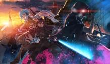 Konachan.com - 226904 death_gun gun_gale_online kirigaya_kazuto male scan shinon_(sao) sword_art_online yuuki_tatsuya