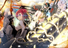 Konachan.com - 241954 cosmic_break gun kuhl mechagirl morizo_cs nora_schneid weapon
